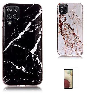 Samsung Galaxy A12 /A12 5g - Shell /Protection/Marmer