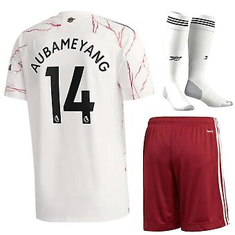 2021-2022 Aubameyang Kids and Adult Football Kits Boys Adults Soccer Jersey Suits