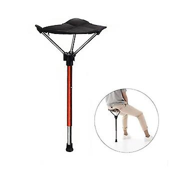 Caraele Portable Stool Height Adjustable Seat Retractable Outdoor Fishing Chair With 4 Gear