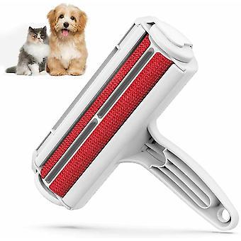 Wielokrotnego użynania pet pies włosy futro lint zmywacz rolka szczotka do czyszczenia sofa kanapa kanapa seat