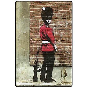 Banksy Pissing odświeżacz powietrza samochodu straży