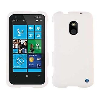 Unlimited Cellular Snap-On Case for Nokia Lumia 620 - Honey White, Leather Finish