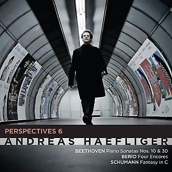 Haefliger / Haefliger - Perspectives 6: Beethoven Berio Schumann [CD] USA import