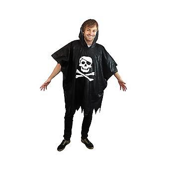Pirate rain poncho Buccaneer pirate jacket poncho costume rain jacket