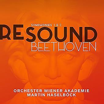 Beethoven / Orchester Wiener Akademie / Überwältigungsmaschine - Sinfonien Nr. 1 & 2 [CD] USA import