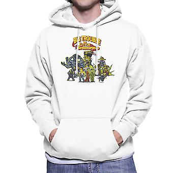 Big Trouble In Little Springfield Simpsons China Men's Hooded Sweatshirt