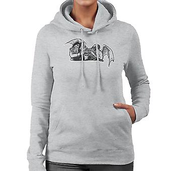 Shiver Me Tentacles Davey Jones Cthulhu Women's Hooded Sweatshirt
