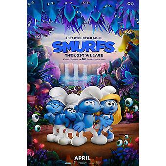 Smurffit menetetty Village elokuvajuliste (11 x 17)