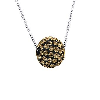 Ball - 925 Sterling Silver Jewelled Necklaces - W18866X