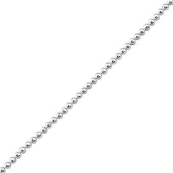 جولة - 925 سلاسل الفضة الاسترليني واحد - W23885x