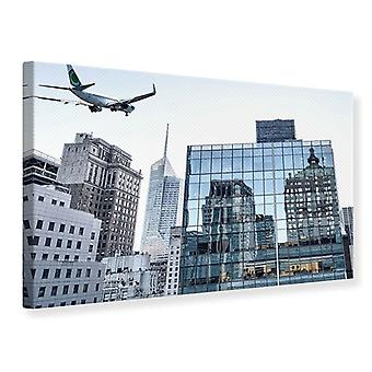 Canvas tulostaa pilvenpiirtäjä NYC