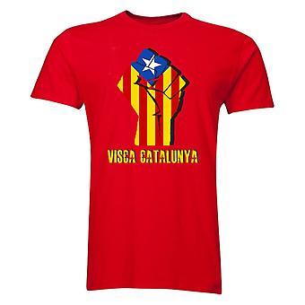 VISCA Catalunya T-Shirt (rot)