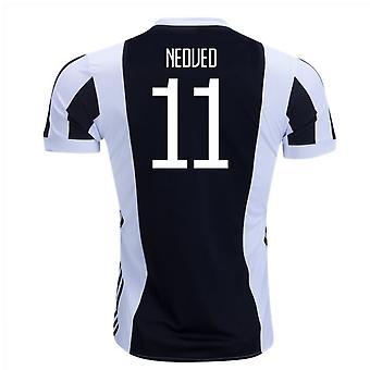 2017-18 Juventus Accueil Shirt (Nedved 11)