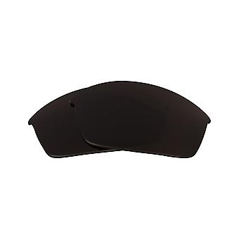 Replacement Lenses for Oakley Flak Jacket Sunglasses Dark Brown Anti-Scratch Anti-Glare UV400 by SeekOptics