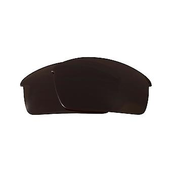 SeekOptics Replacement Lenses for Oakley Thump Pro Polarized Brown UV400