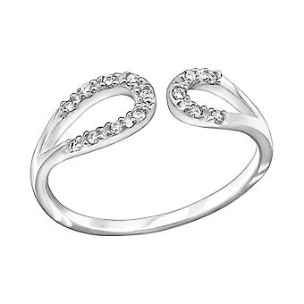Drop - jeweled 925 Sterling Silber Ringe - W29244x