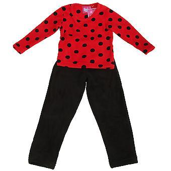 Selena tyttö lasten tytöt kätevää Fleece Pyjama asettaa