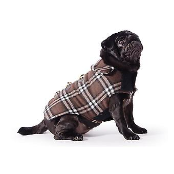 Ancol Pet Products Small Bite Checkered Duffel Dog Coat