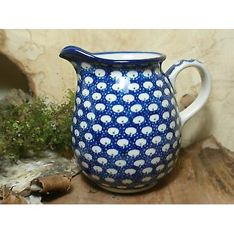 Pitcher, 500 ml, height 11 cm, 4, traditional polish pottery - BSN 7340