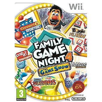 Hasbro Family Game Night 4 The Game Show Edition (Wii) - Nouveau
