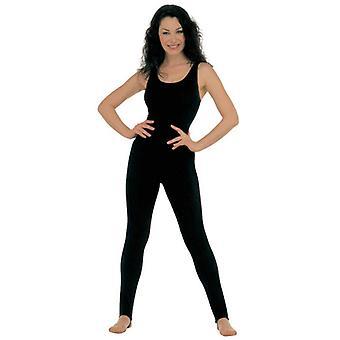 Lady Bodysuit nr ärm svart