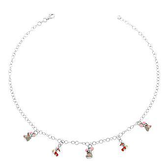Orphelia Silver 925 halsband 40Cm med möss hängen ZK-2718