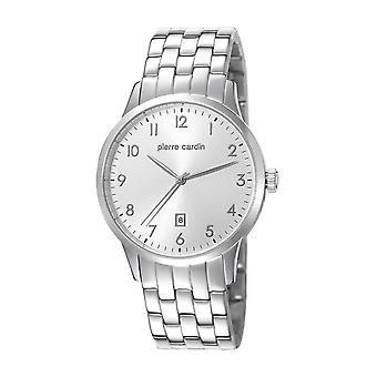 Pierre Cardin mens watch wristwatch stainless steel PC106671F11