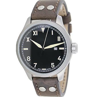 Aristo men's watch automatic pilot watch California 3H192A leather