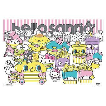 Hello Sanrio - Group Poster Print