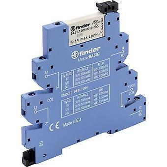 Finder 39.11.0.006.0060 - MasterBASIC elektromechanische Relais Interface Modul, EMR, SPDT-CO 250V AC 6A