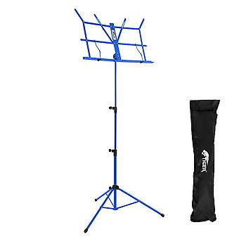 Tiger Easy Folding Sheet Music Stand with Bag - Portable Music Stand