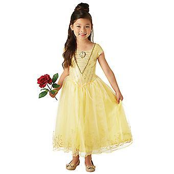Belle live action filmen Deluxe skjønnhet og som dyret kjole for barn