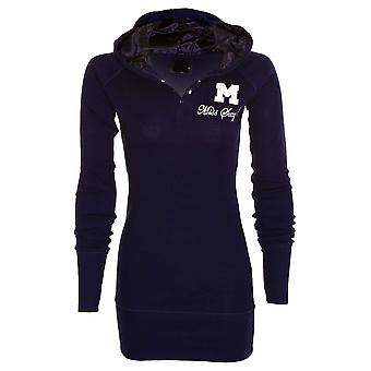 New Ladies Miss Sexy Plain Cotton Long Sleeve Womens hooded Jumper Top