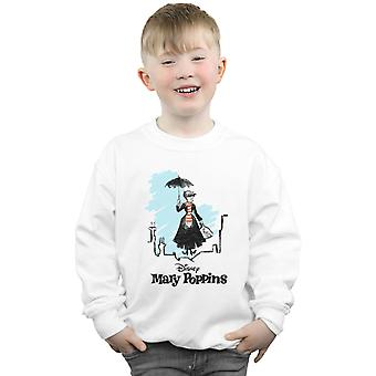 Disney Boys Mary Poppins Rooftop Landing Colour Sweatshirt