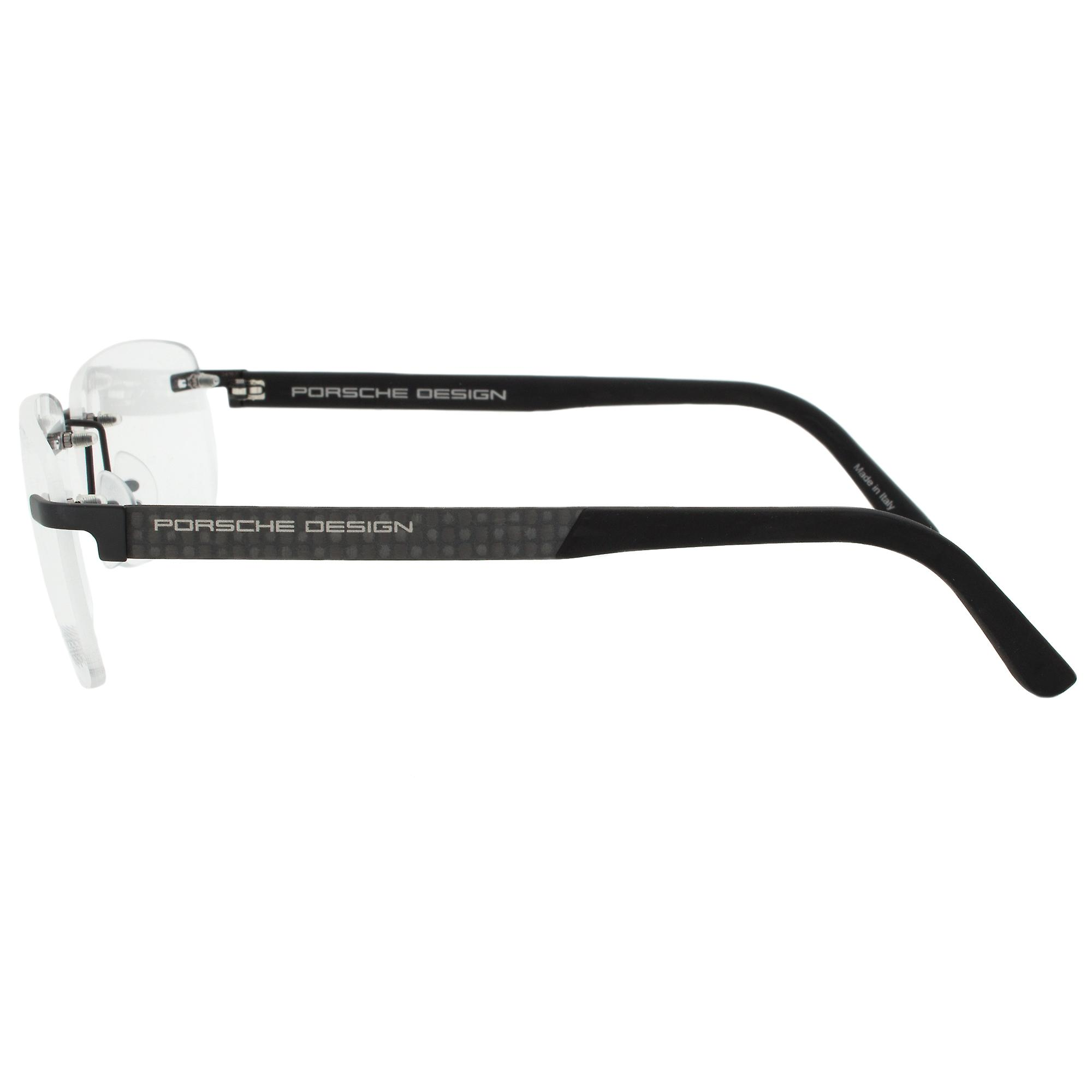 Porsche Design P8236 A Rectangular | Black/Grey| Eyeglass Frames