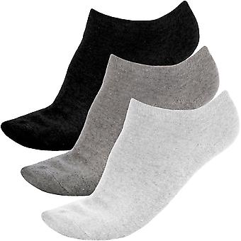 3 Pair Pack of Prince Pro Tour Womens Tennis Ankle Trainer Sport Socks - 4-8UK
