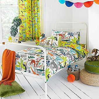 Riva Home Jungletastic Duvet Cover Set