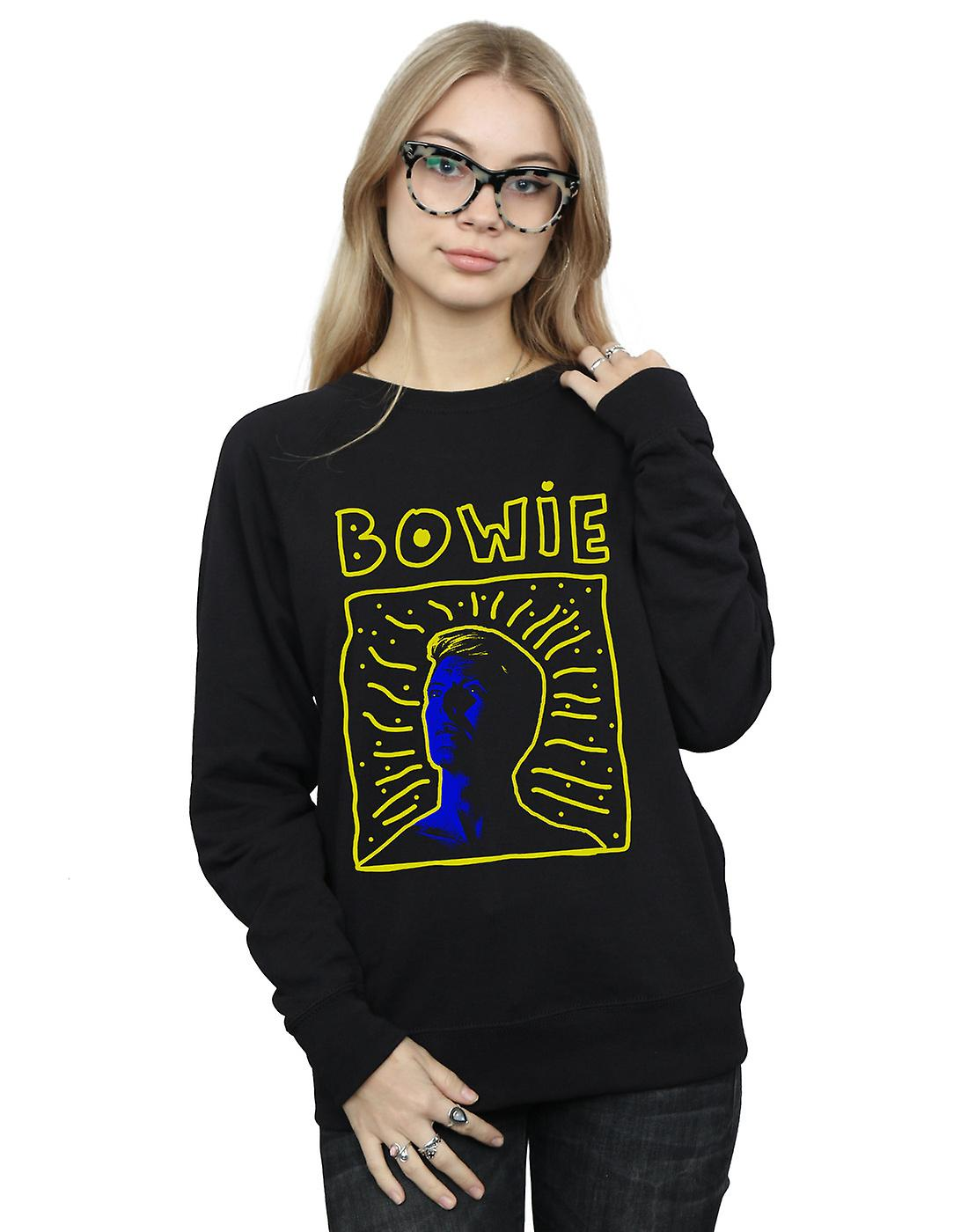 David Bowie Women's 90s Frame Sweatshirt
