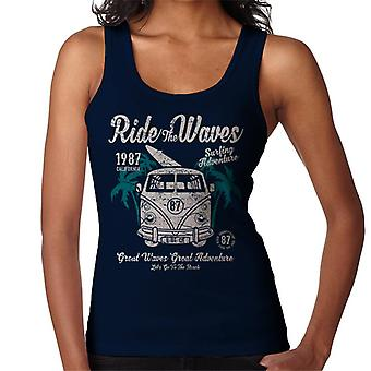 Ride The Waves Camper Van Women's Vest