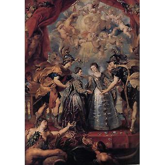 Excbange av prinsesser, Peter Paul Rubens
