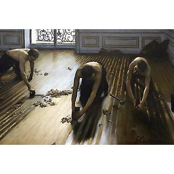 The Floor Scrapers, Alma-Tadema Sir Lawrence, 60x40cm