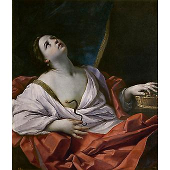 The Death of Cleopatra, Guido Reni, 60x50cm