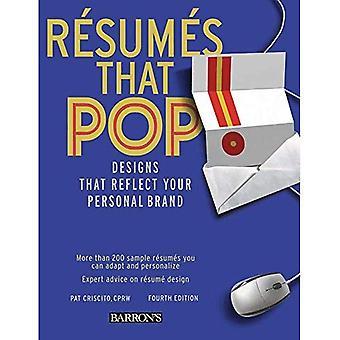 Hervat dat Pop!: ontwerpen die overeenkomen met uw persoonlijke merk