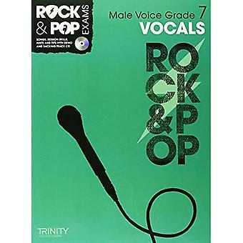 Trinity Rock & Pop Exams: Vocals Grade 7 (Male Voice) (With Free Audio CD)