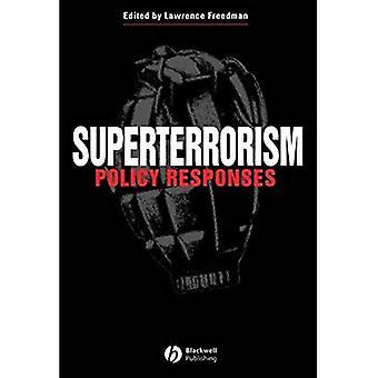 Superterrorism: Politische Antworten