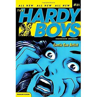 Comic Con Artist (Hardy Boys Undercover bröder (Aladdin))