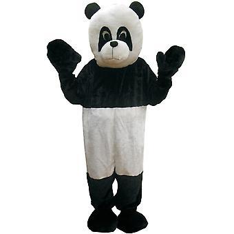 Panda Mascot voksen kostume