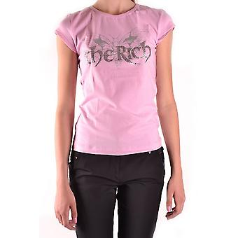 John Richmond Ezbc082073 Women's Pink Cotton T-shirt