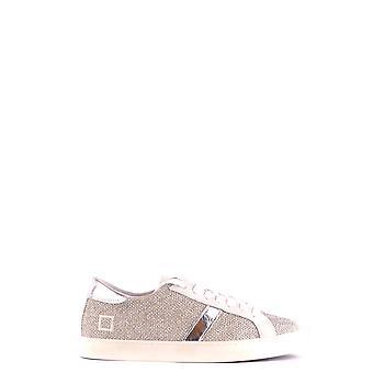 D.a.t.e. Ezbc177013 Women's Silver Fabric Sneakers