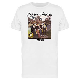 SmileyWorld Happiness Provider Since 1972 Vintage Graphic Men's T-shirt